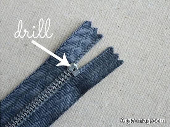درست کردن دستبند زیپی