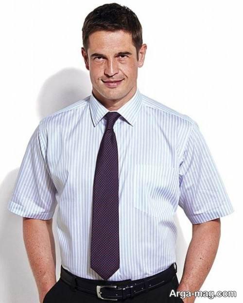 پیراهن آستین کوتاه