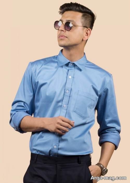 پیراهن کلاسیک مردانه