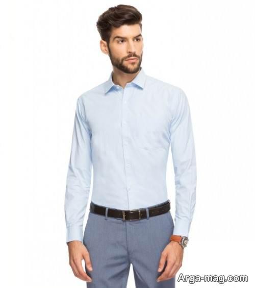 پیراهن کلاسیک و زیبا مردانه