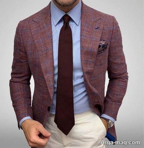 ست کت و پیراهن و کراوات مردانه