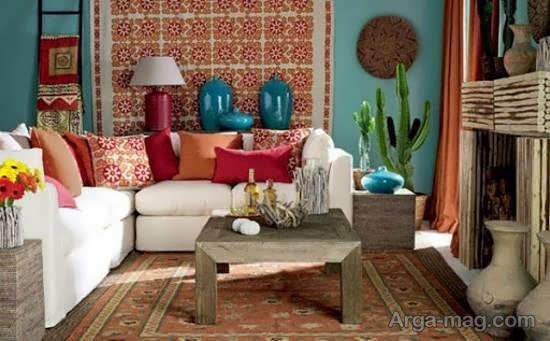 نمونه هایی شیک و. بینظیر از طراحی منزل به سبک مکزیکی
