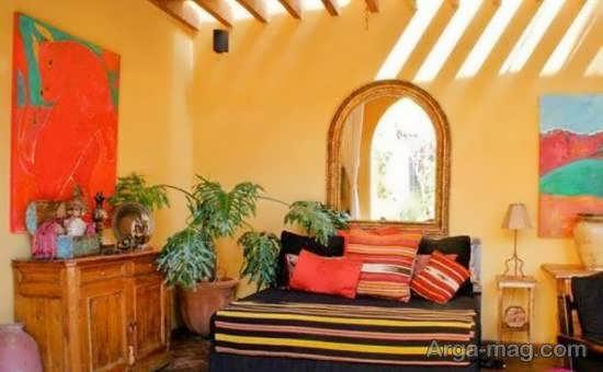 دکوراسیون منزل با بهره گیری از روش های ساده در سبک مکزیکی