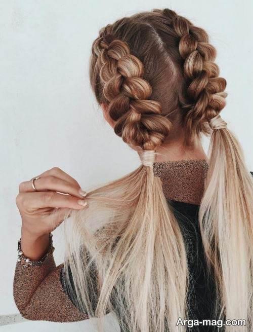 شینیون مو زیبا و شیک