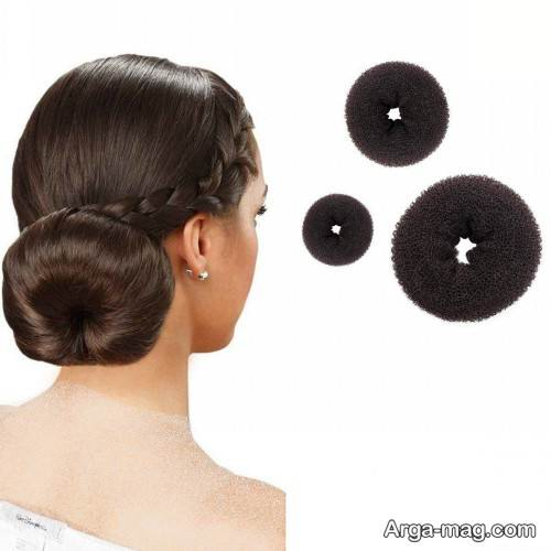 مدل آرایش موی حلقه ای