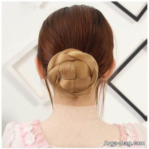 شینیون مو زیبا و جدید