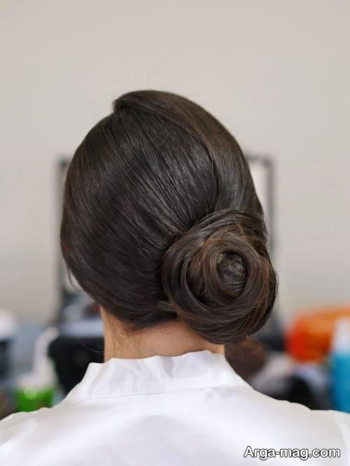 شینیون موی زیبا و جدید
