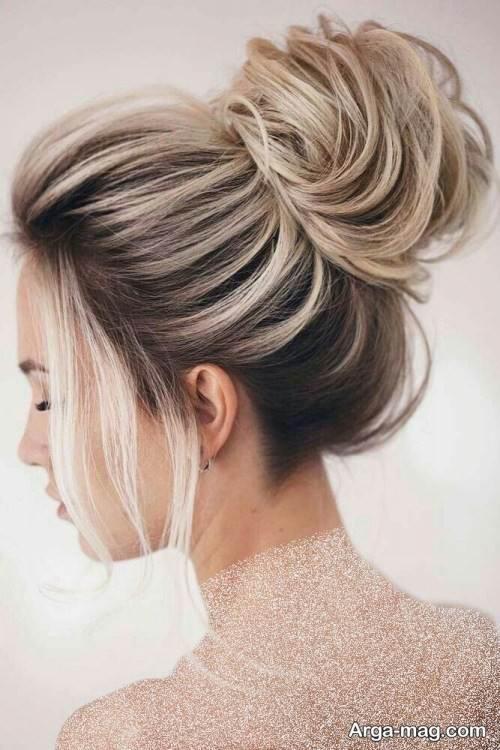 آرایش مو حلقه ای زیبا و شیک
