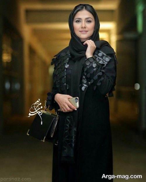 مدل مانتوی ساده بازیگران ایرانی