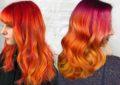 رنگ موی پرتقالی