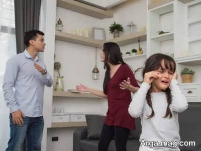 اثر پرخاشگری والدین بر کودک
