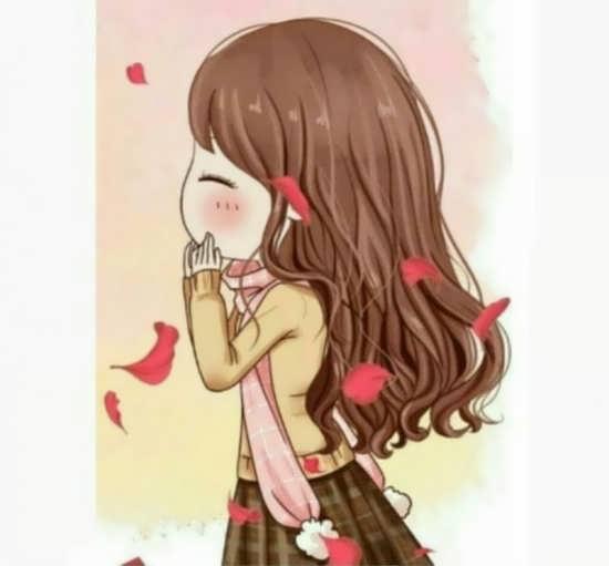 تصویر رمانتیک دخترانه