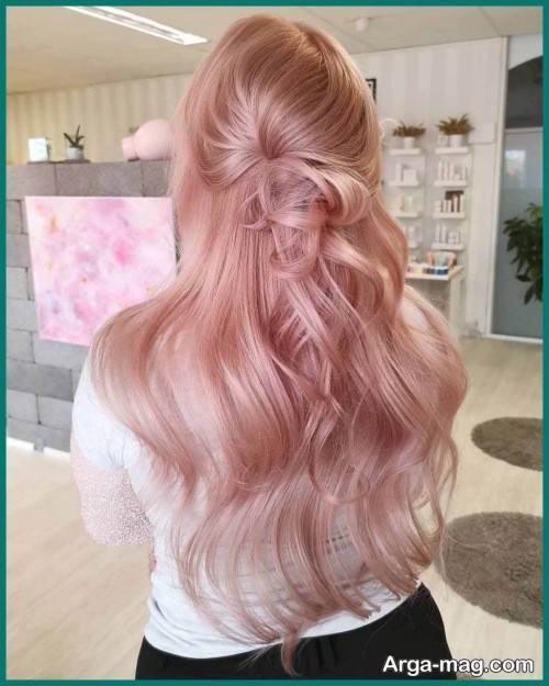 رنگ موی دخترانه
