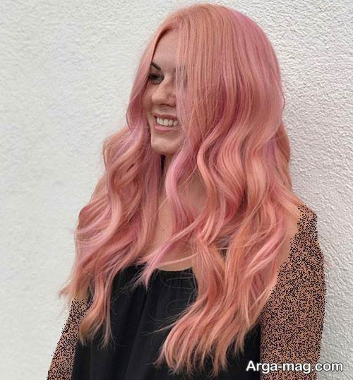 رنگ موی زنانه رزگلد
