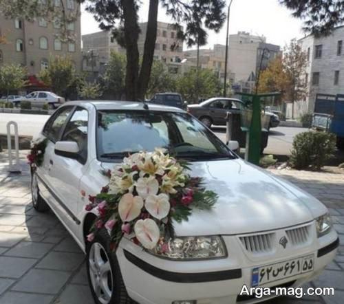 تزیین ماشین عروس سمند
