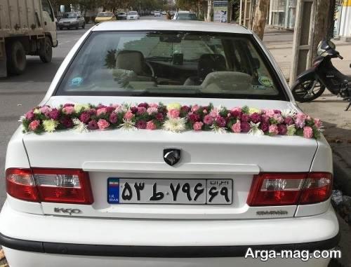 تزیین جالب ماشین عروس