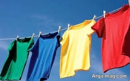 خشک کردن لباس+عکس
