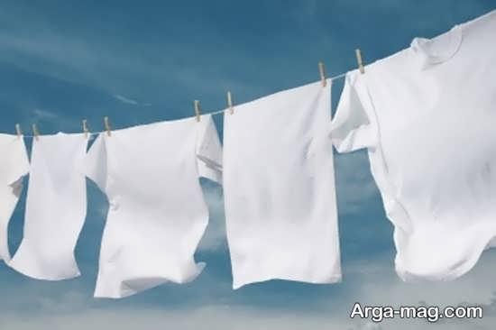 ترفند هایی برای خشک کردن لباس