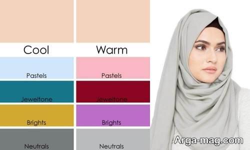ست لباس برای رنگ پوست روشن