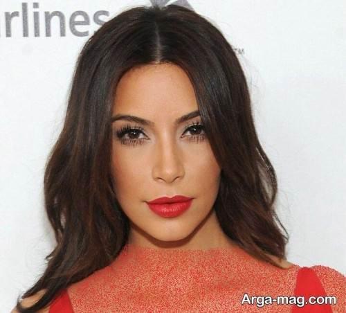 آرایش با لباس قرمز
