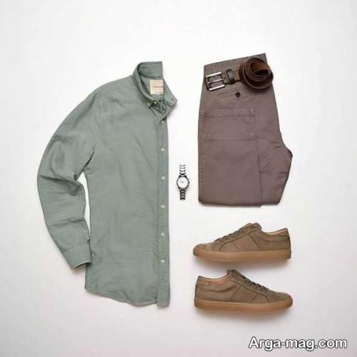 ست لباس ساده مردانه