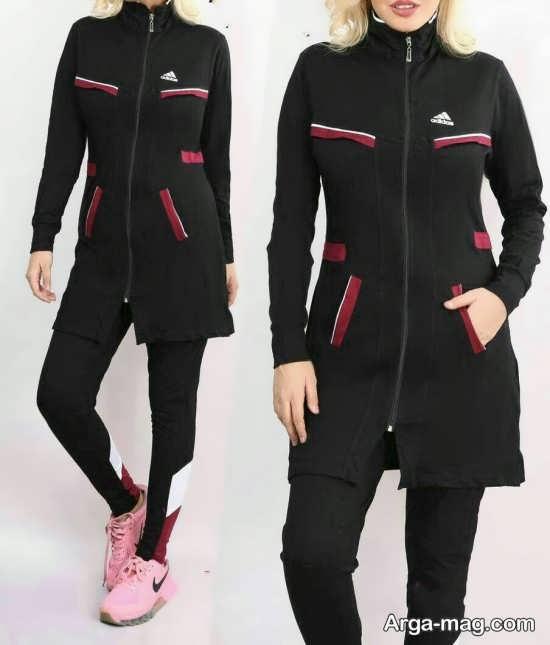 مدل لباس ورزشی مانتویی