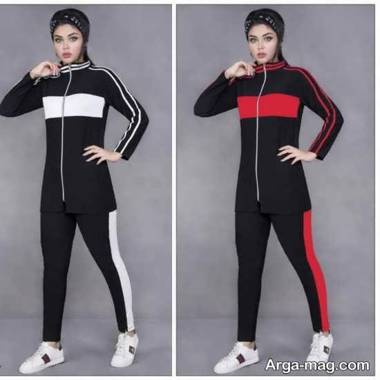 ست لباس ورزشی زنانه جذاب