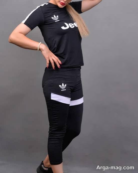 نمونه لباس ورزشی جدید زنانه