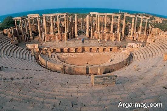 بررسی مکان های دیدنی لیبی