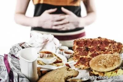 بیش از حد خوردن ممنوع