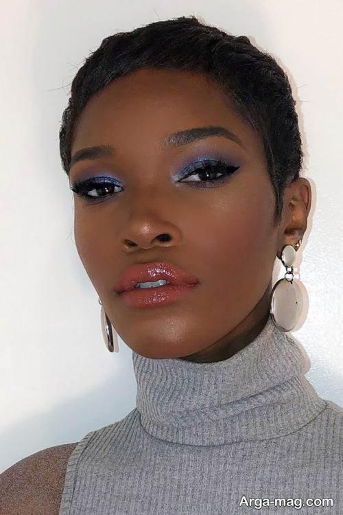 آرایش صورت زنانه بهاری