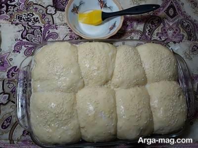 دستور تهیه نان شکم پر در خانه با ساده ترین روش