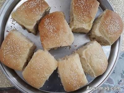 نان شکم پر خوشمزه