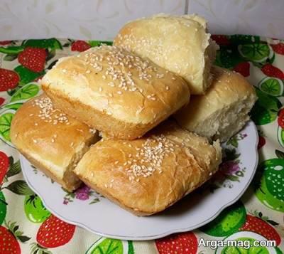 نان شکم پر خوش طعم