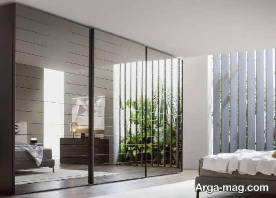 نقش آینه در فضای خانه