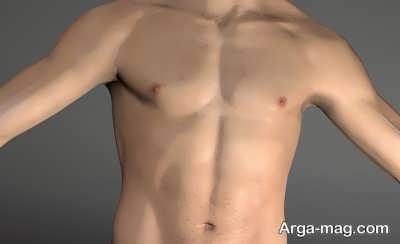 نشانه های سینه بزرگ مردان