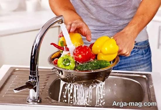 ورود با کتری ها به سبزیجات می تواند باعث بیماری زایی آن ها شود