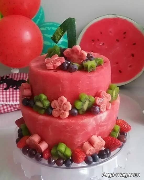 مدل جالب کیک تولد