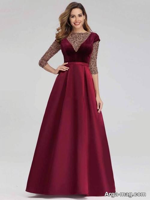 لباس مجلسی ساده زنانه