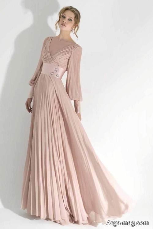 مدل پیراهن بلند زنانه با طرح ساده