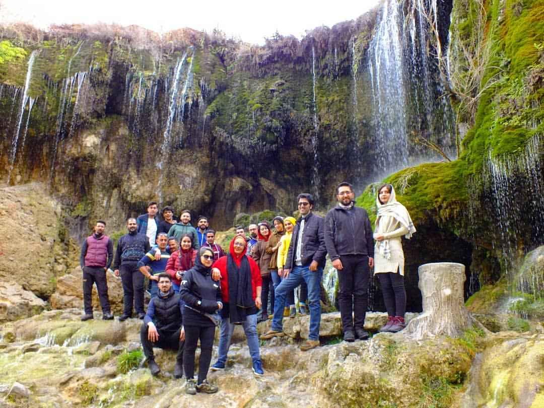 مکان های دیدنی آبشار آسیاب خرابه