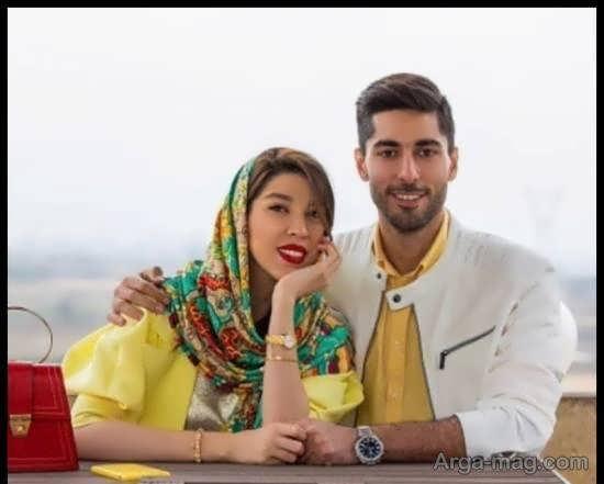 عکس های لاکچری علی شفیعی و نامزدش