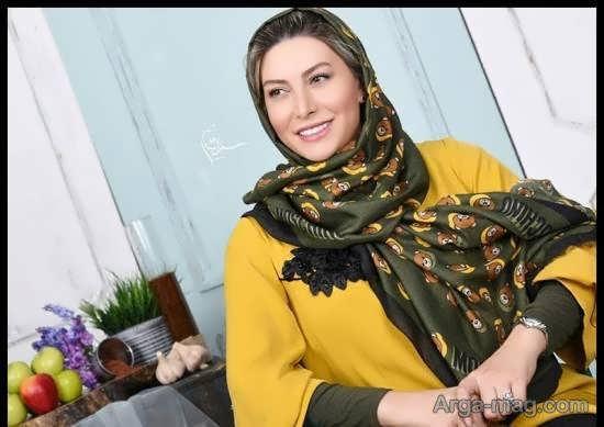 پوشش جدید و جذاب فریبا نادری در مصاحبه نوروزی اش/عکس