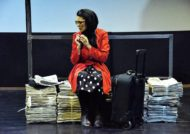 شیما جهانگیری بازیگر نقش خانم خطیبی در سریال دوپینگ