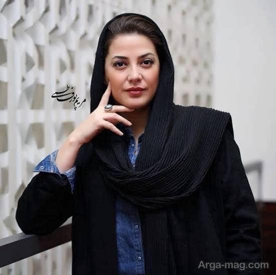 طناز طباطبایی بازیگر خوش چهره ی ایرانی