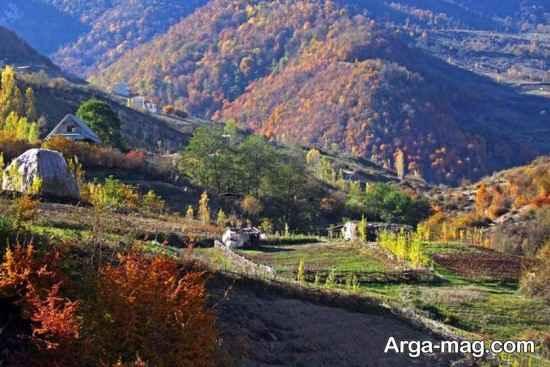 چشم انداز روستای زیارت