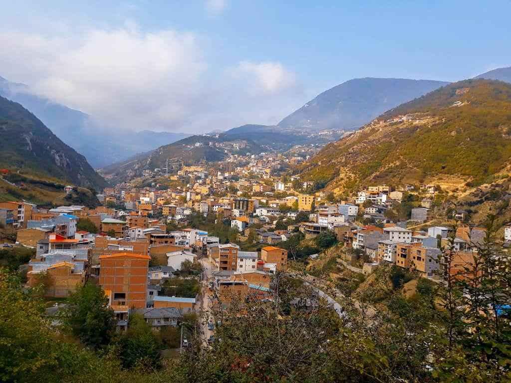 جاذبه های روستای زیارت