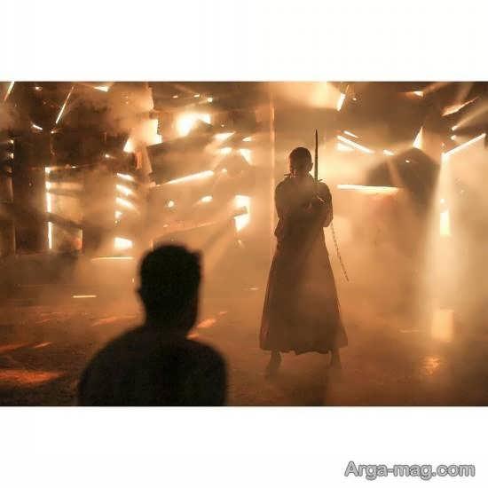 لیلا حاتمی چهره محبوب کشورمان در فیلم«قاتل و وحشی»