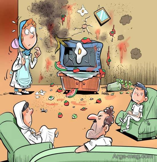 نارضایتی مردم از تلویزیون در روزهای قرنطینه!