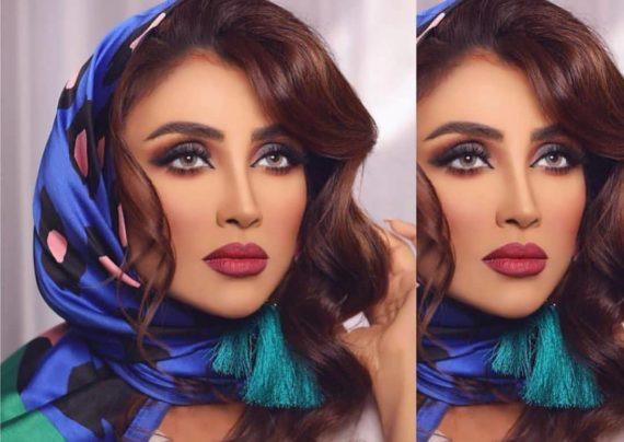 الهام عرب مدل معروف و خوش چهره